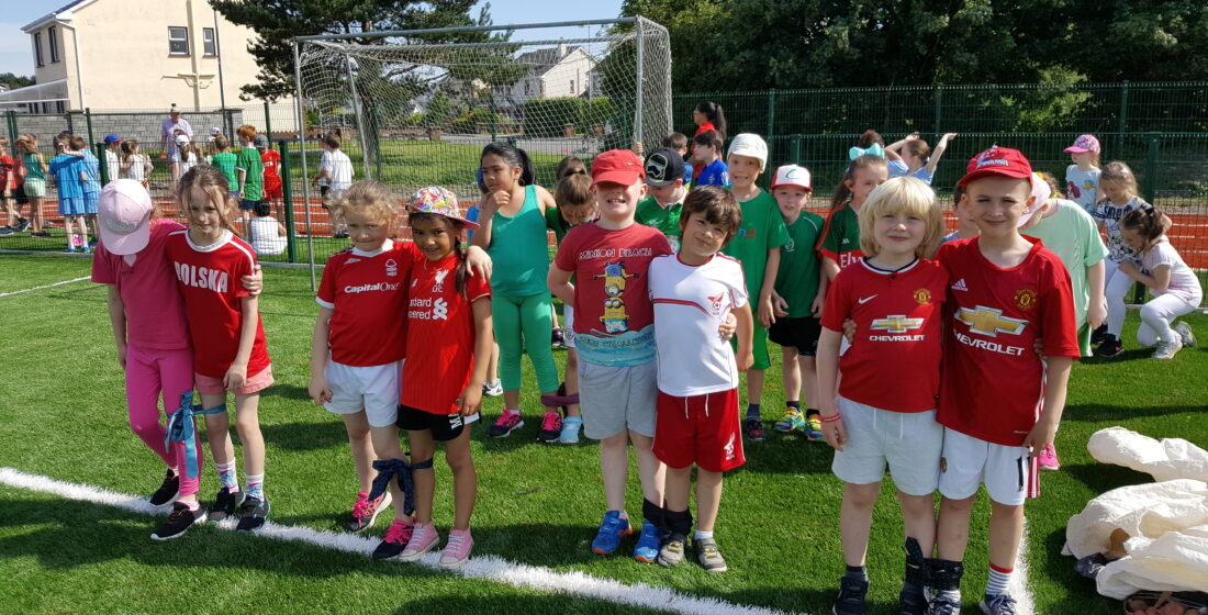 St. Aidan's National School - Sports Day Success - 23rd June 2017
