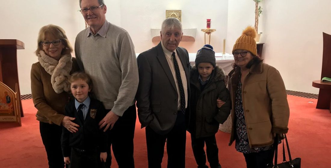 St. Aidan's National School - Grandparents Day Mass - 29th January 2019