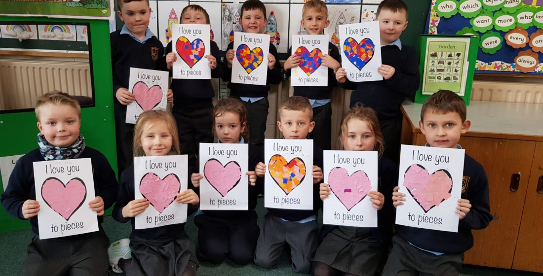St. Aidan's National School - Happy Valentine's Day - 15th February 2019