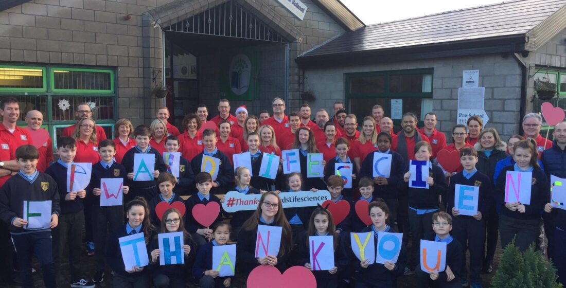 St. Aidan's National School - Defibrillator News!! - 18th December 2018