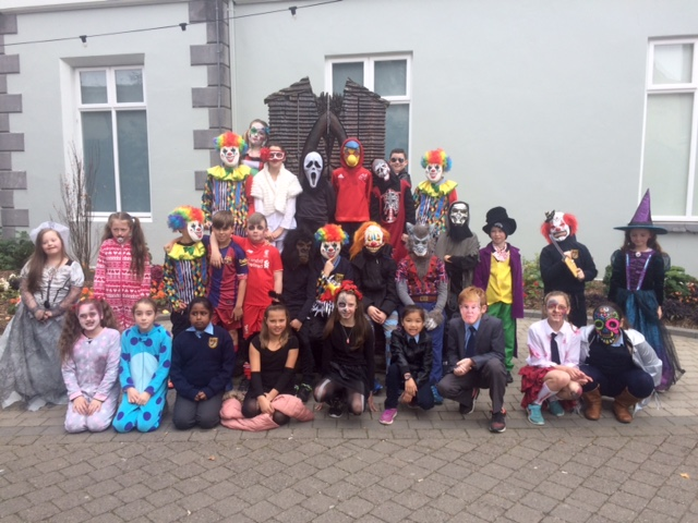 St. Aidan's National School - 4th Class Halloween Workshop in the Clare Museum - 27th October 2016