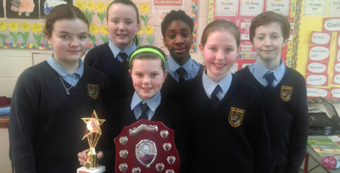 St. Aidan's National School - Debating Success - 15th March 2016