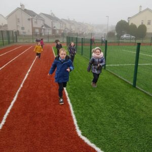 St. Aidan's National School - Junior Infants making their way around Europe! - 16th February 2020