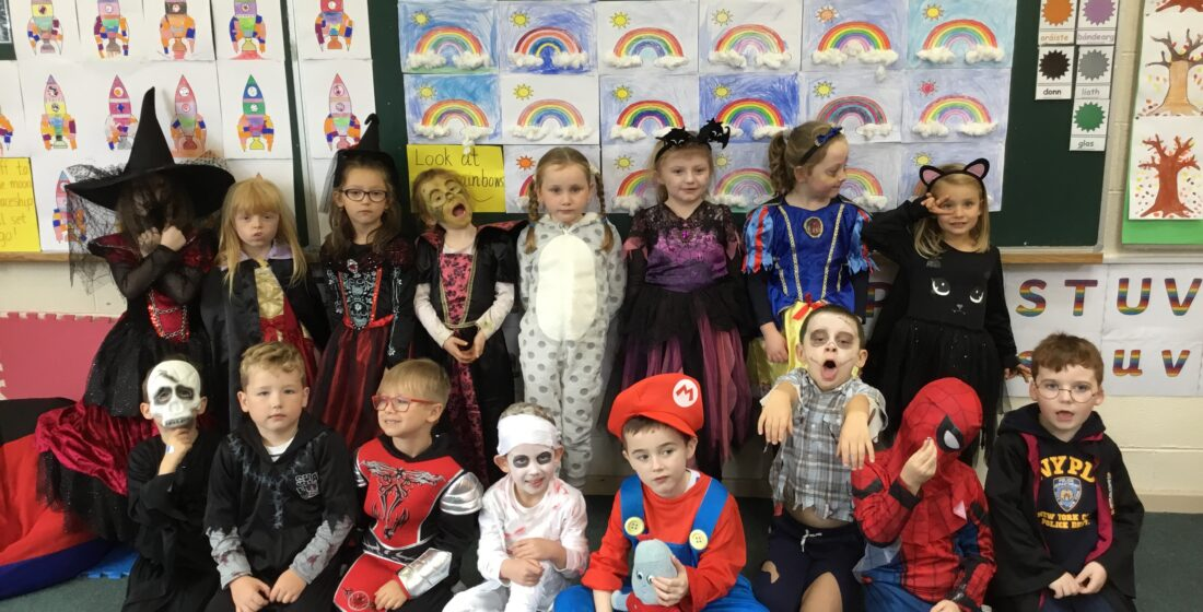 St. Aidan's National School - Halloween Fun - 5th November 2018