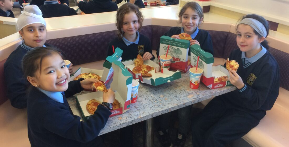 St. Aidan's National School - Pizza Making - 13th December 2016